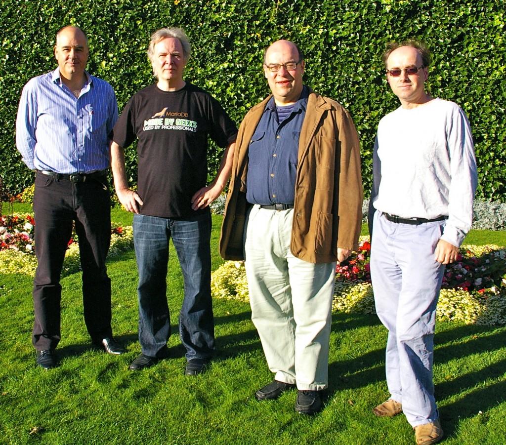 Al Dearle, Monty Widenius, Steve Linton, Ian Gent
