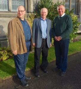 Prof Steve Linton, Prof Alan Bundy and Prof Ian Sommerville