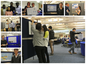 MSc Poster Session:  Pinning, Preparation and Presentation