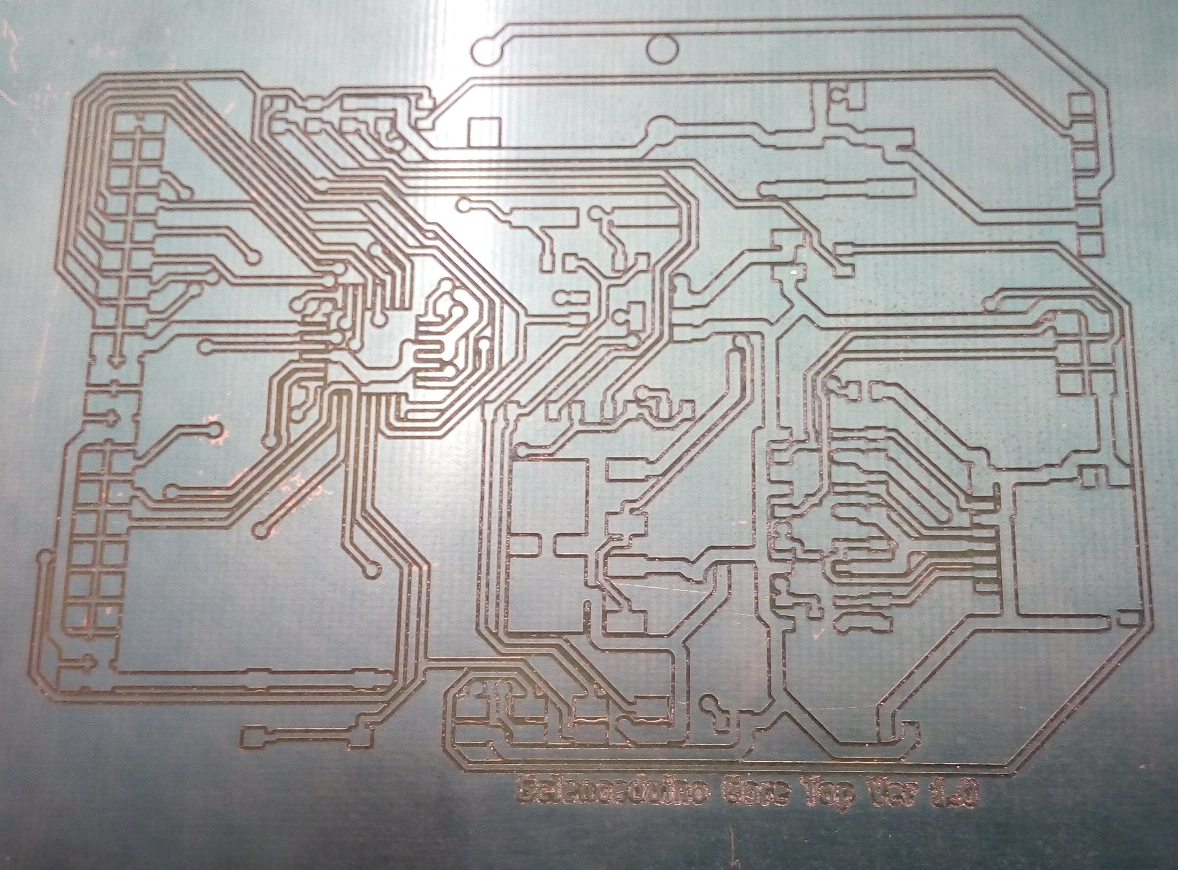 CNC Router Test PCB Made | Computer Science Blog