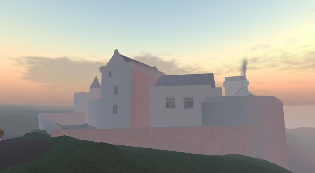 Image of the virtual castle.