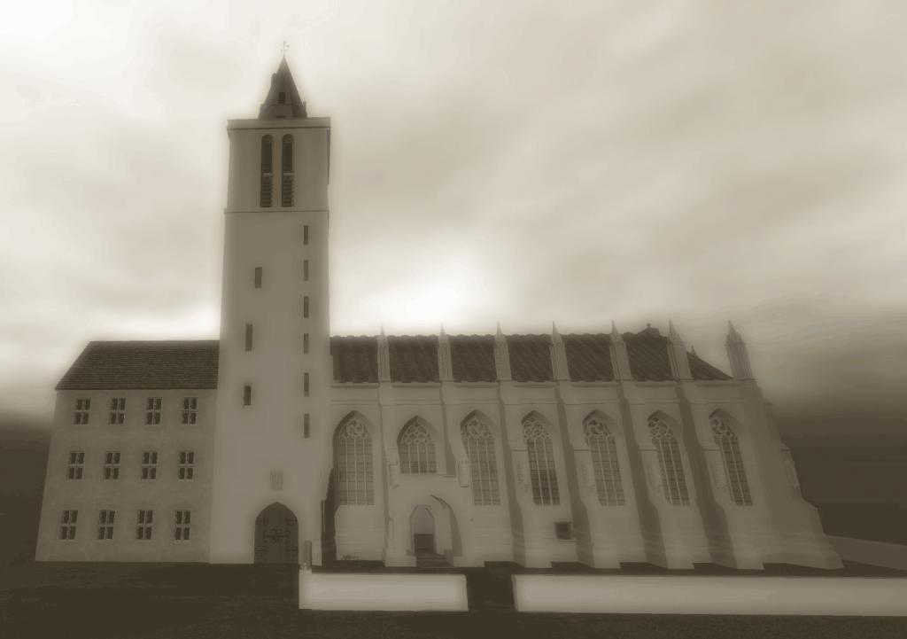 Virtual 3D St Salvators Chapel.
