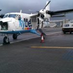 Plane to Tiree